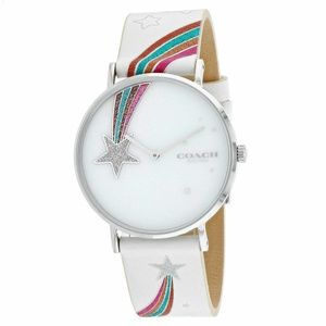 Coach Perry Ladies Analog Casual 38mm Rainbow Band